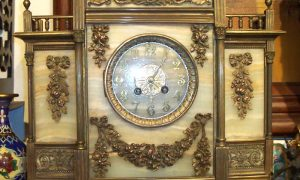 Stone & Marble Clock
