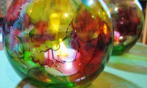Glass Show Pieces
