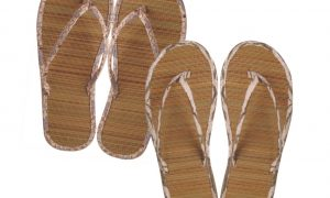 Cane Bamboo Slippers